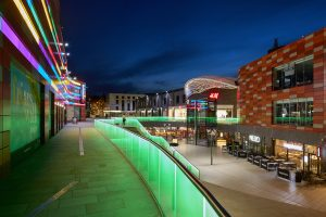 Friars Walk, Newport | Exterior lighting | The Light Lab