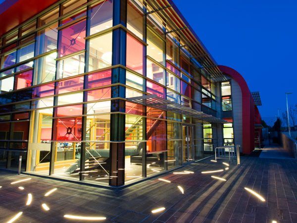 Omagh Firestation | Specialist lighting design | The Light Lab