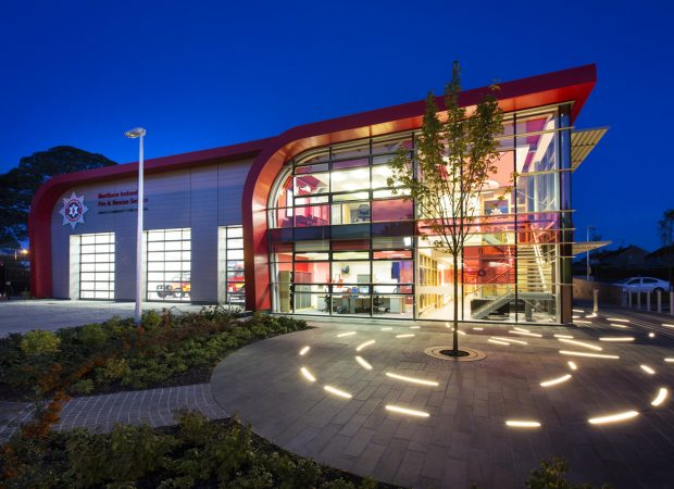 Omagh Firestation | Specialist lighting design | The Light Lab