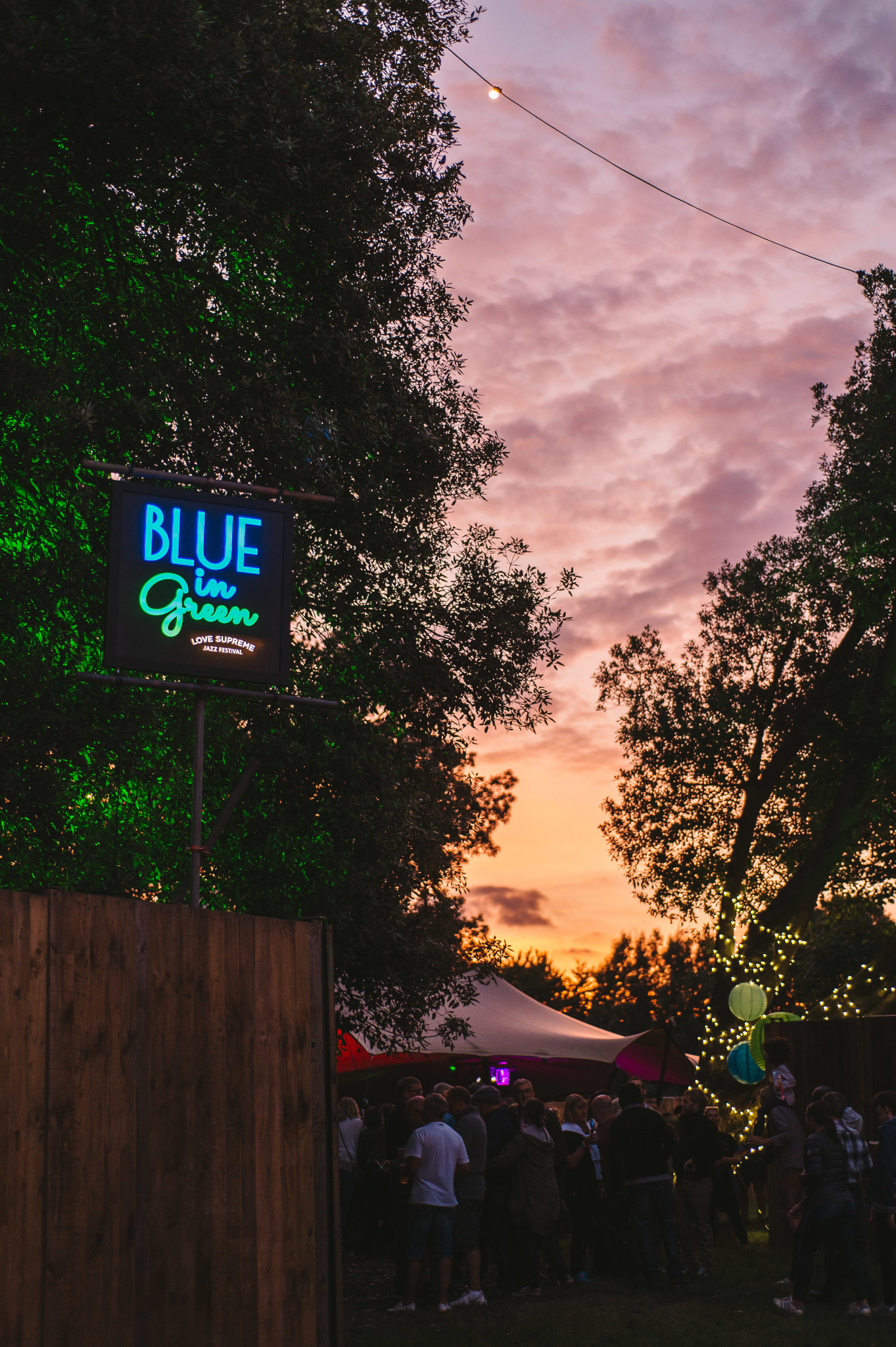 Love Supreme Festival Sign | Bespoke brand lighting | The Light Lab