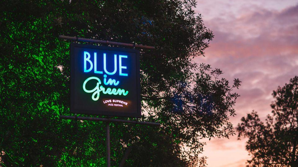 Love Supreme Festival Sign   Bespoke brand lighting   The Light Lab