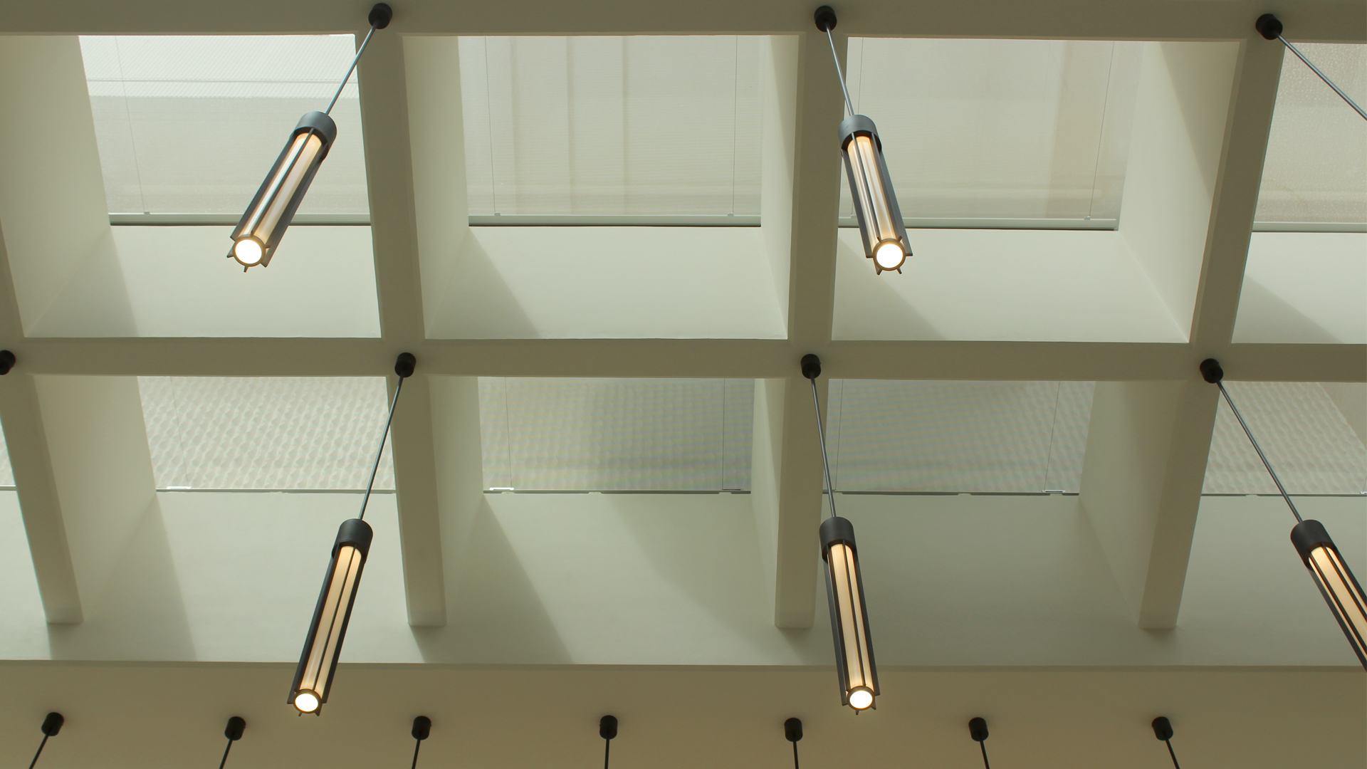 Salter's Hall | Bespoke drop pendants | Commercial office lighting