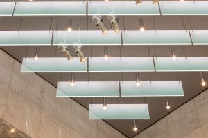 Lexington Avenue, New York | Spectraglass ceiling fins | The Light Lab