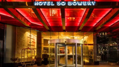 Hotel 50 Bowery Nyc The Light Lab Spectragl