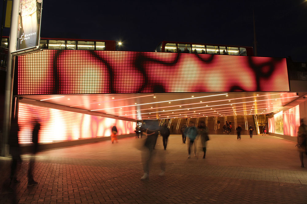 Bobby Moore Bridge   The Light Lab