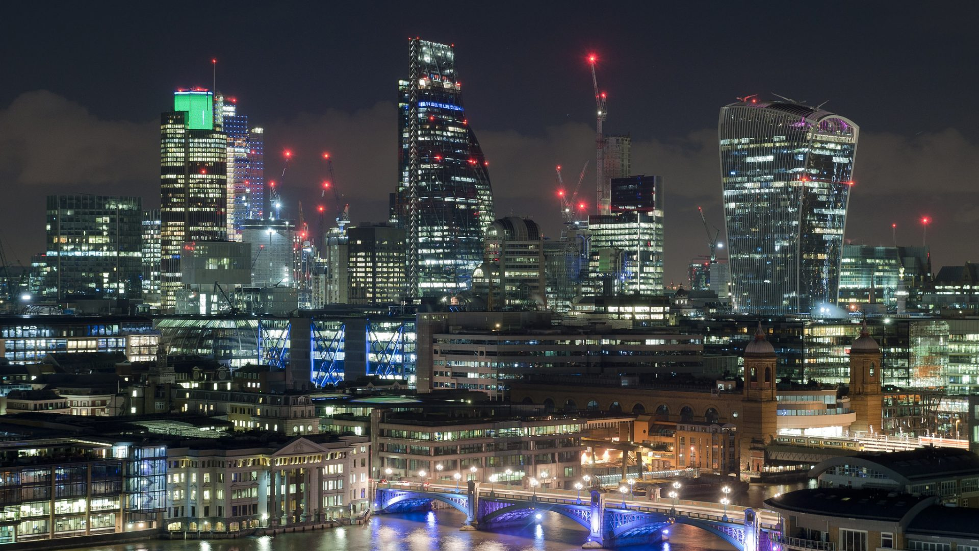 London skyline | Facade Lighting Specialists | The Light Lab