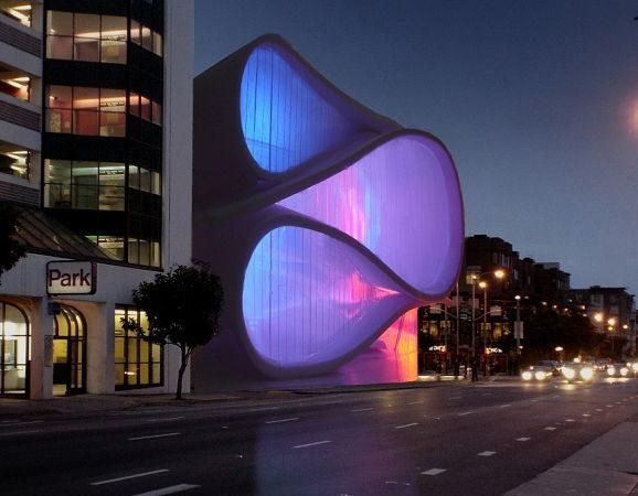 Museum of Performance and Design proposal :: Architect Mark Dziewulski