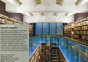 London Library nominated in RIBA AWARDS | The Light Lab