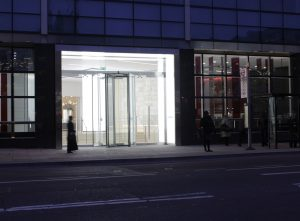 101 Bishopsgate | edge lit panel lighting | The Light Lab