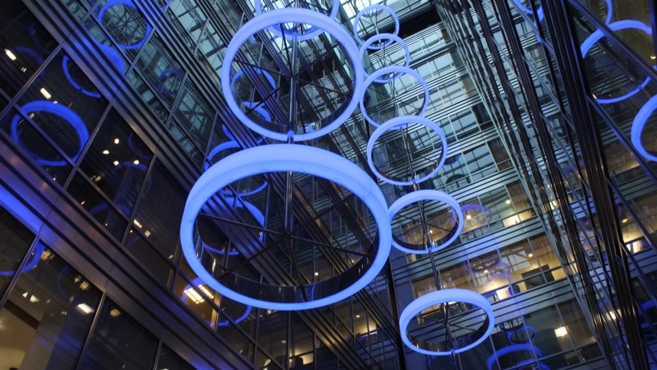 Broadgate Quarter | Bespoke commercial lighting | The Light Lab