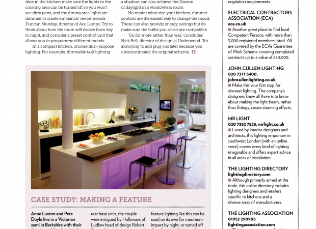 Beautiful Kitchens Spectraglass Feature