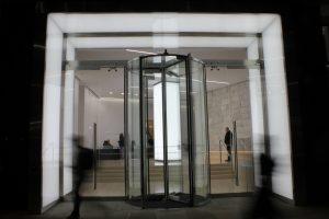 101 Bishopsgate | bespoke entrance portal | The Light Lab