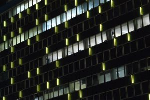 International House, Ashford | Exterior specialist lighting London | The Light Lab