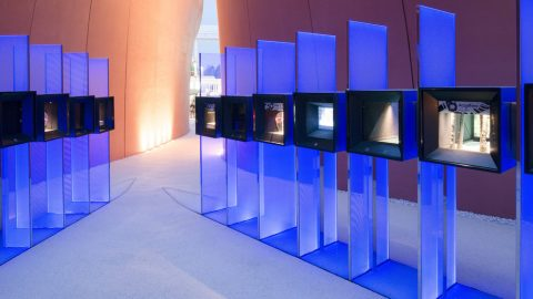 UAE Pavillion, Milan | Public realm lighting | The Light Lab