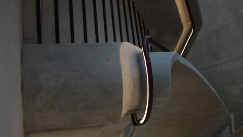 HIscox, York | LED handrail | The Light Lab