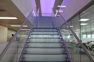 Liberty Specialist Markets | Glowrail LED handrail | The Light Lab