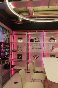 commercial office lighting   bespoke lighting design   The Light Lab