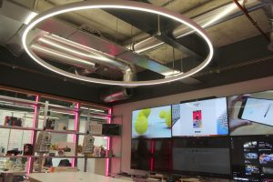 commercial office lighting | bespoke lighting design | The Light Lab