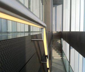 NM Rothschild   LED handrail   The Light Lab