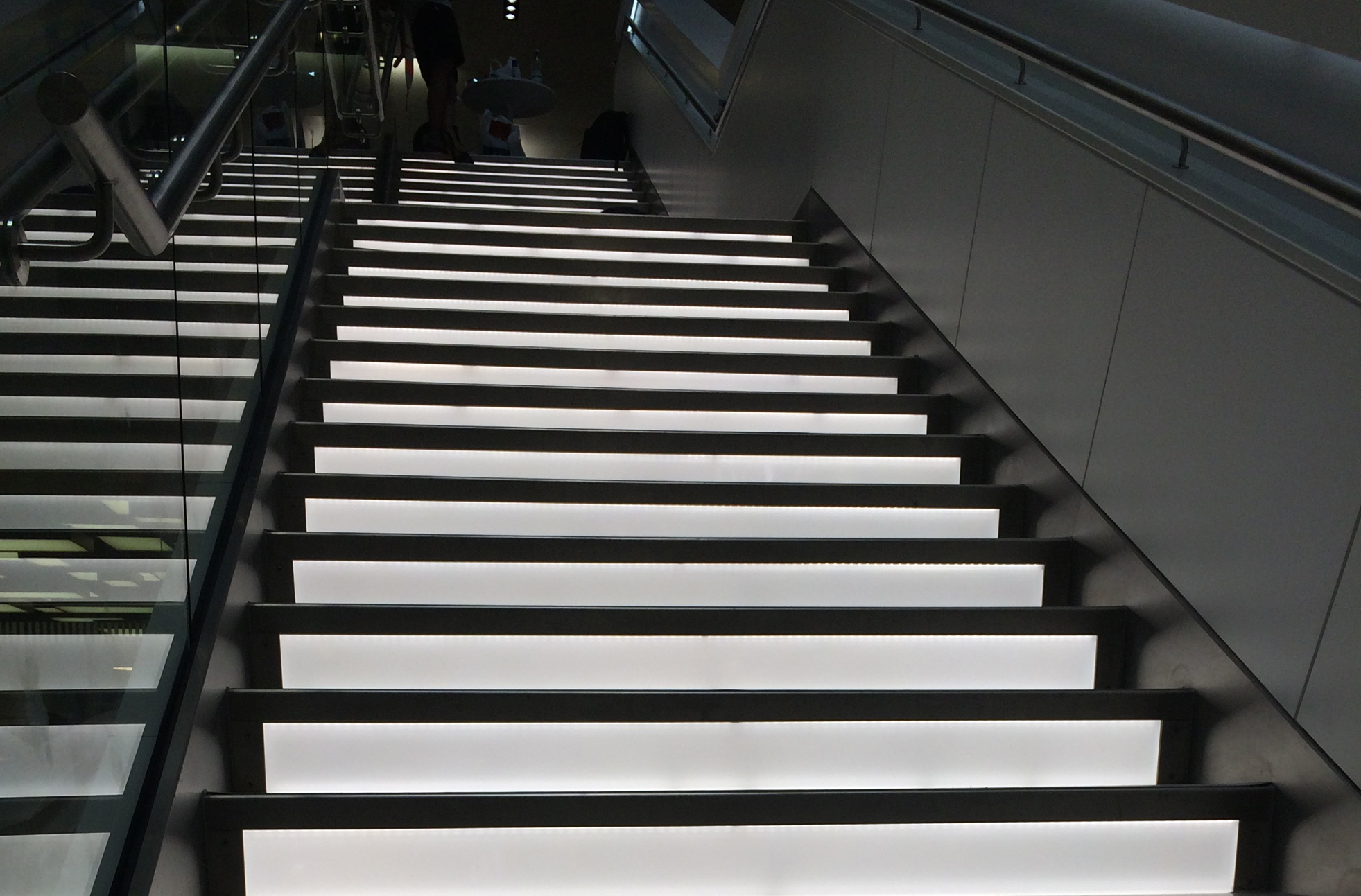 PWC Staircase | Bespoke lighting manufacture | The Light Lab