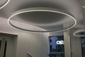 30 Cannon Street | Commercial office lighting | The Light Lab