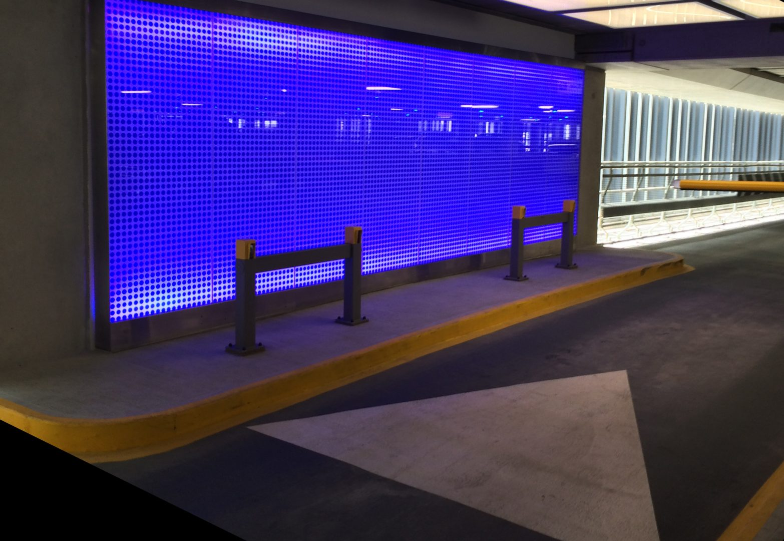 Heathrow T2 Car Park | Public realm lighting | The Light Lab