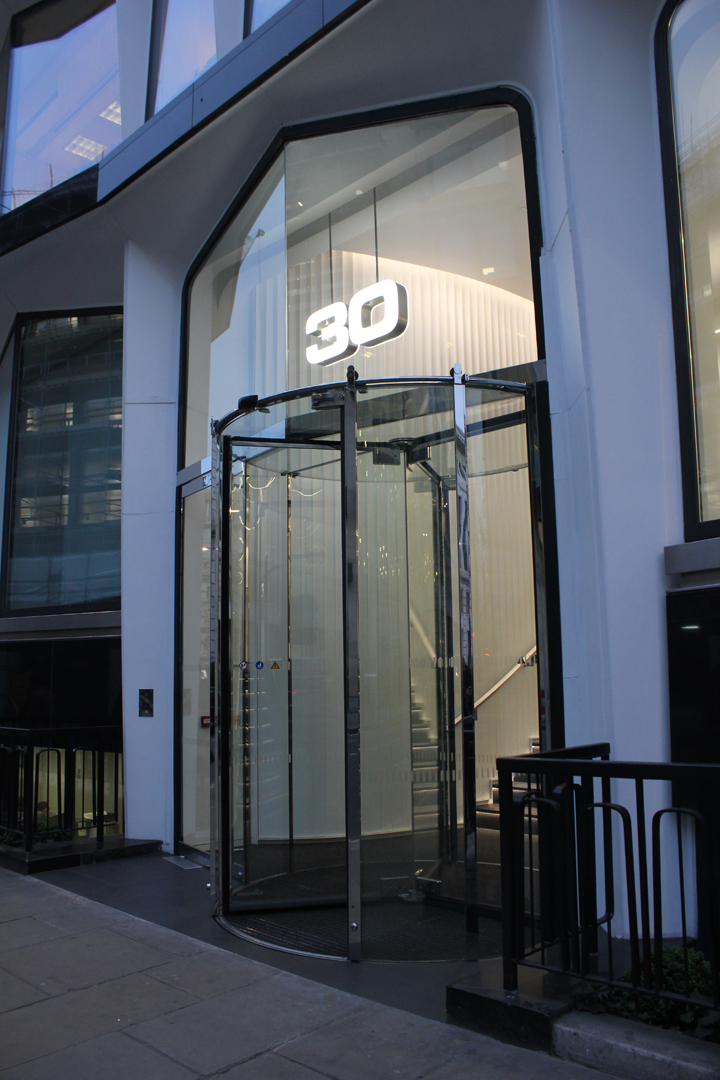30 Cannon Street | specialist lighting installation | The Light Lab