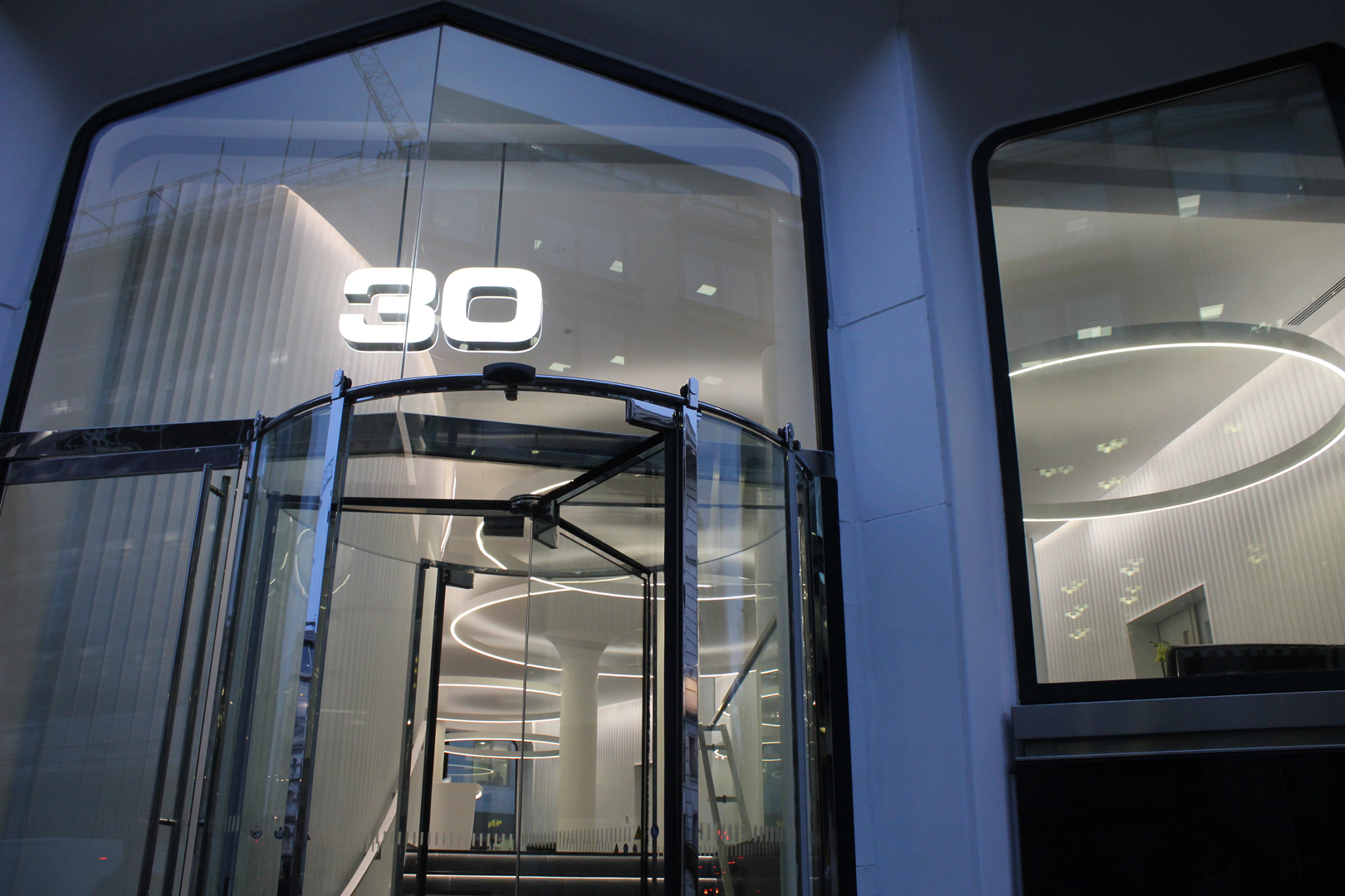 30 Cannon Street | Commercial Lighting Design | The Light Lab