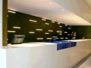 Holiday Inn, Bristol | Specialist lighting | The Light Lab