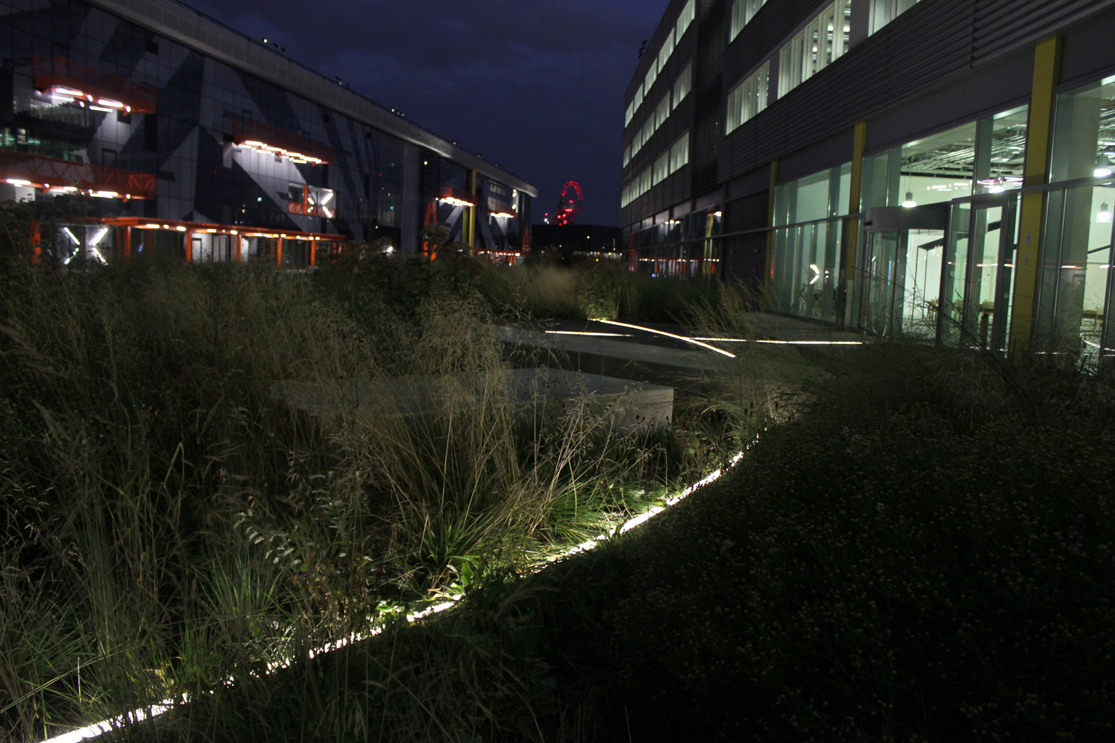 Here East, Stratford | specialist lighting installation | The Light Lab