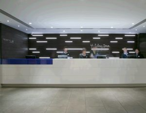 Holiday Inn, Bristol | Specialist lighting | The Light Lab