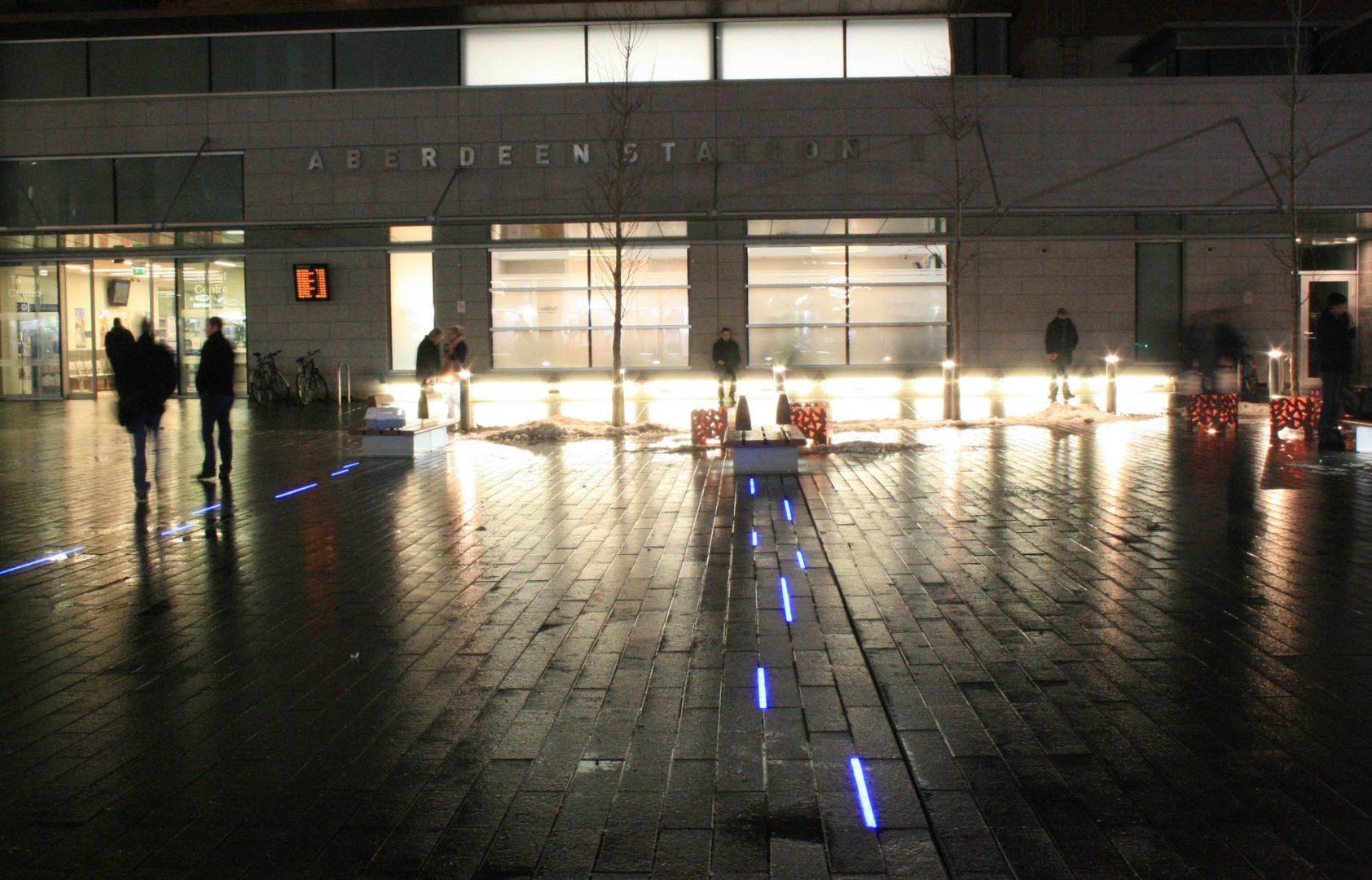 Union Square   Retail leisure lighting   The Light Lab