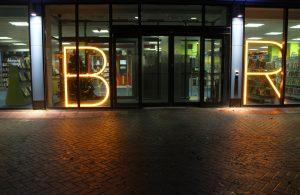 Orpington Library | Bespoke exterior lighting | The Light Lab