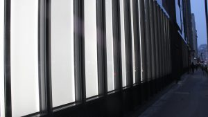 24 Chiswell Street | Bespoke commercial office facade lighting | The Light Lab