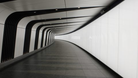 Kings Cross Tunnel | LED light wall | The Light Lab
