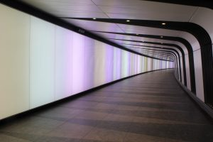 Kings Cross Tunnel Light Wall | specialist lightiong manufacturer | The Light Lab