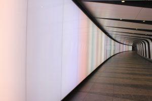 Kings Cross Tunnel Light Wall   public realm lighting   The Light Lab