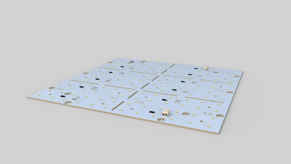 LED-Matrix panel