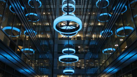 Broadgate Circle | Bespoke Lighting Solutions | The Light Lab