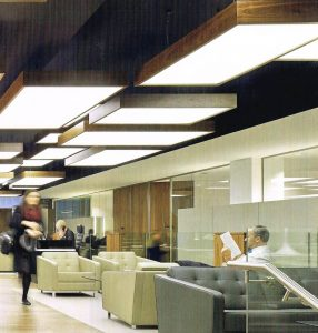 PWC Refurbishment – Bespoke light fittings