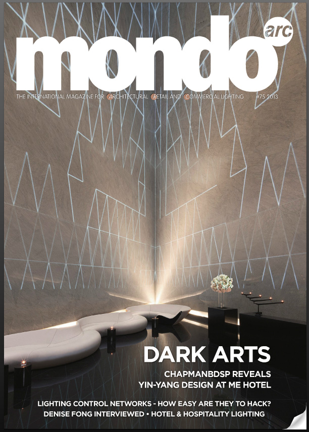 Glowform featured in Mondo Arc Oct.13