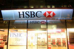 HSBC, London | Brand lighting | The Light Lab
