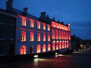 Derry Playhouse | Exterior lighting | The Light Lab