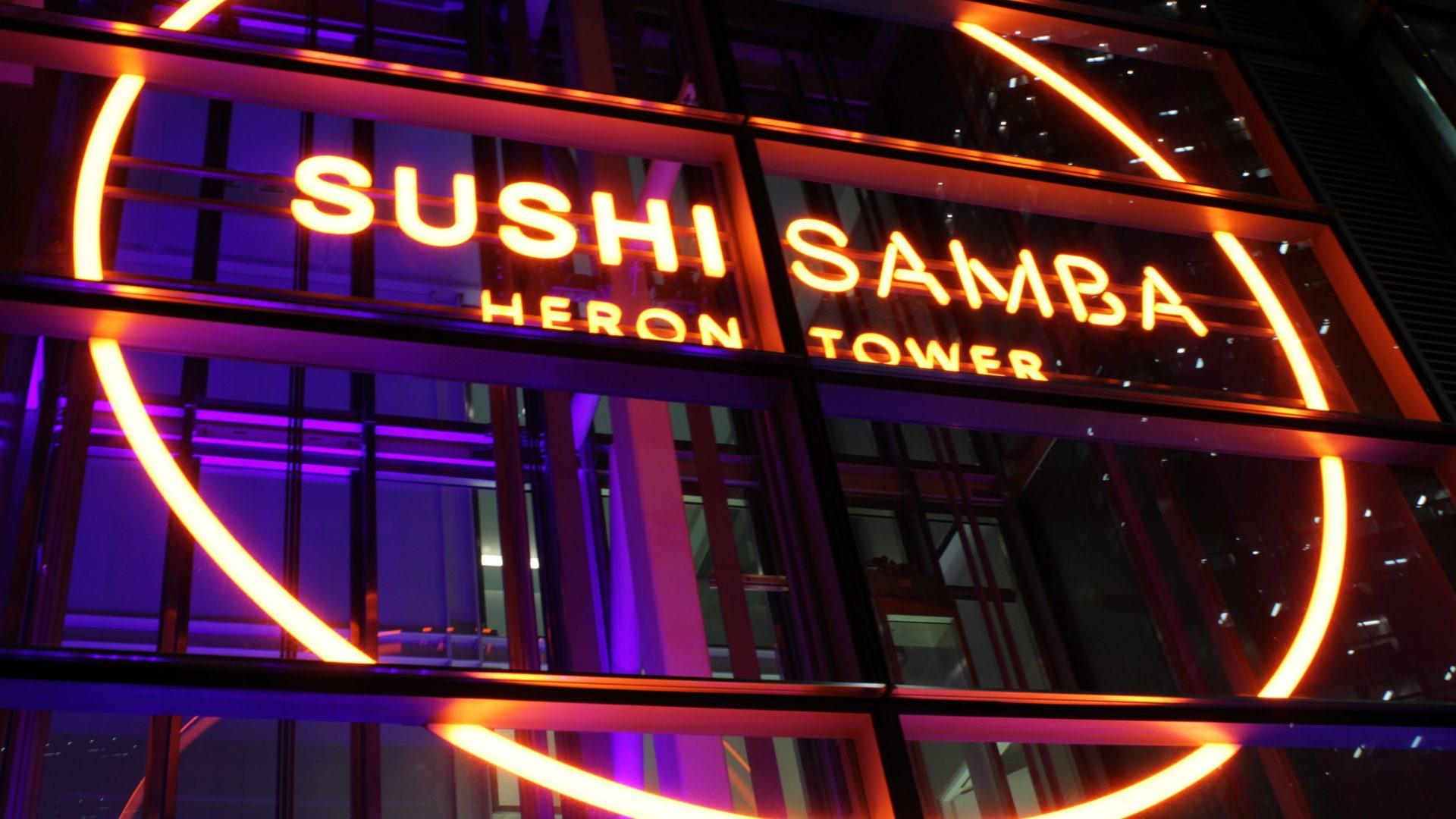 SUSHISAMBA | Brand lighting | The Light Lab