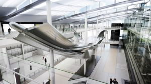 Heathrow T2 sculpture unveiled
