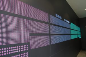 The Filaments SW18 LED colour changing wall