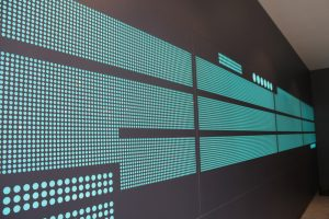 The Filaments SW18 LED colout static wall