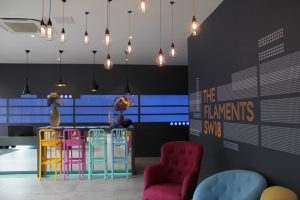 The Filaments SW18 | Leisure lighting | The Light Lab