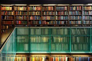 The London Library | edge lit balustrade | The Light Lab