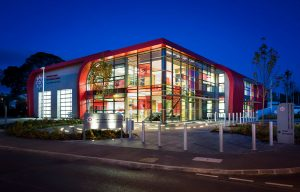 architectural lighting omagh fire station lightlab 3